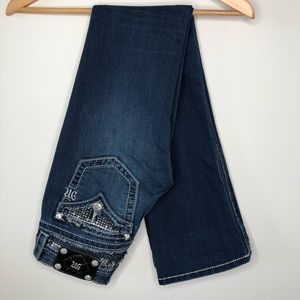 Miss Me Signature Rise Bootcut Jeans Size 25